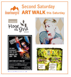 Second Saturday Art Walk