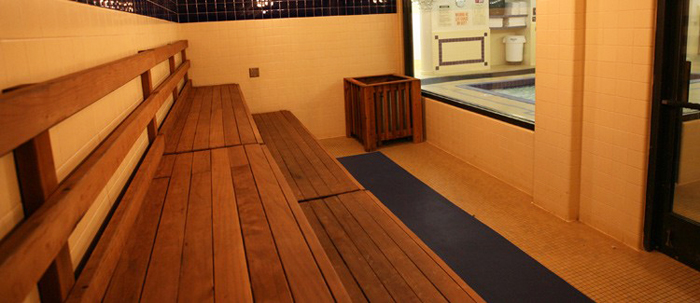 Capital Athletic Club sauna