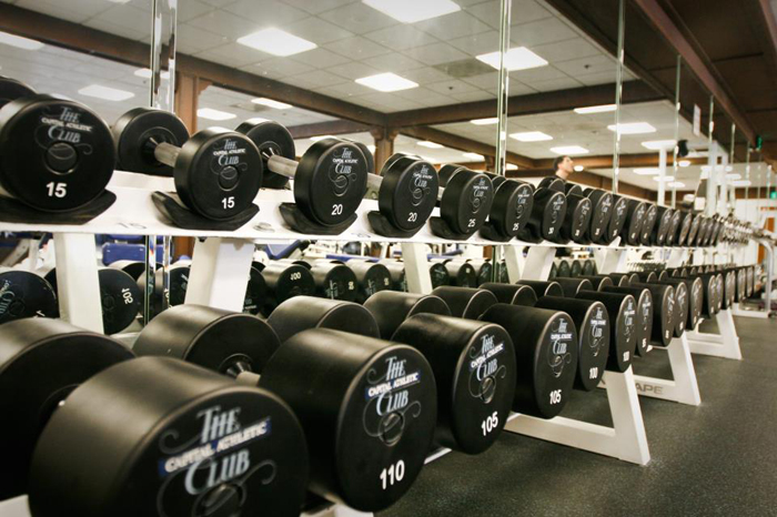 Capital Athletic Club weights
