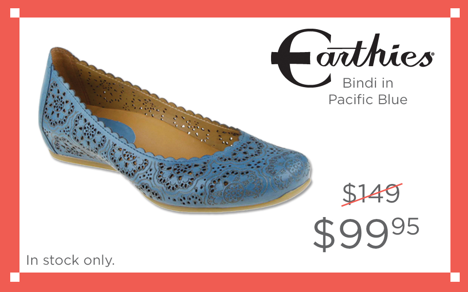 Earthies Bindi Pacific Blue