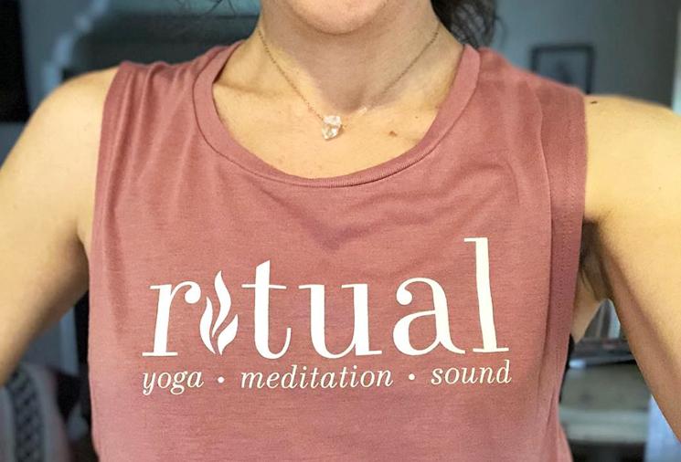 Ritual yoga tank top