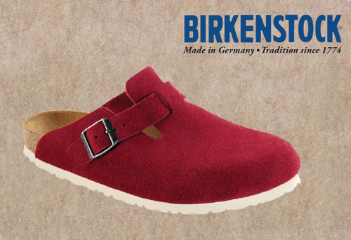 Birkenstock Boston Cream Sole
