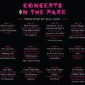 concerts park 2016