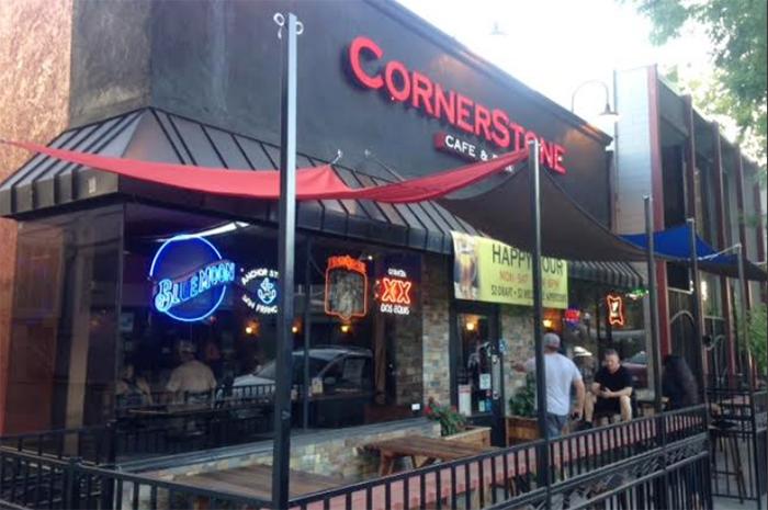 Cornerstone Cafe And Bar Sacramento Menu