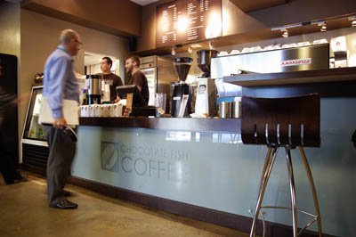 Chocolate Fish Coffee Roasters – Downtown
