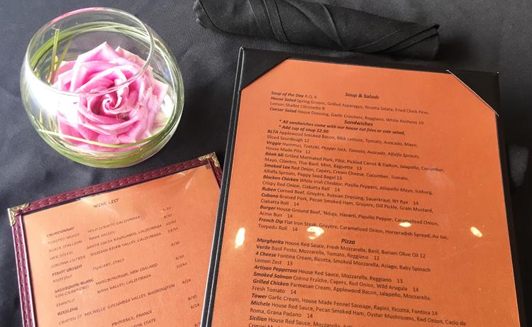 restaurant nine 2 won menu