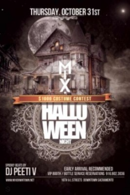 Halloween Night at The Mix