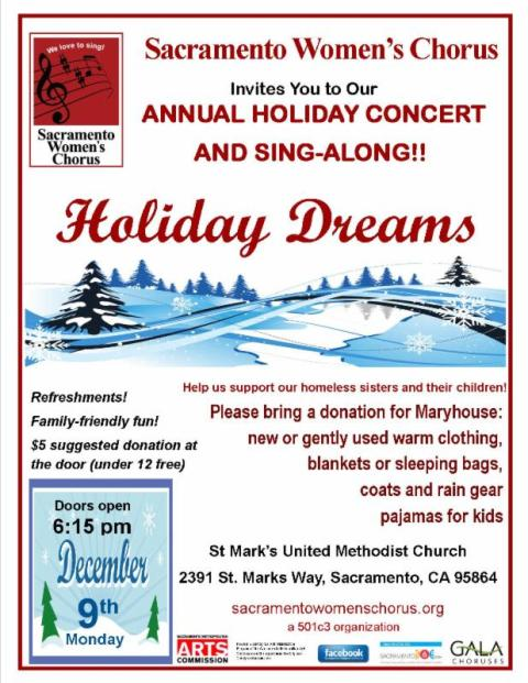 Sacramento Women's Chorus Presents Holiday Dreams