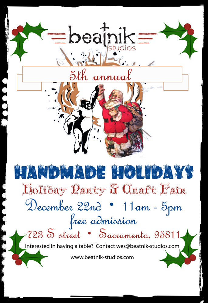 Handmade Holidays at Beatnik Studios