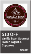 Vanilla Bean Gourmet Yogurt & Cupcakes Coupon