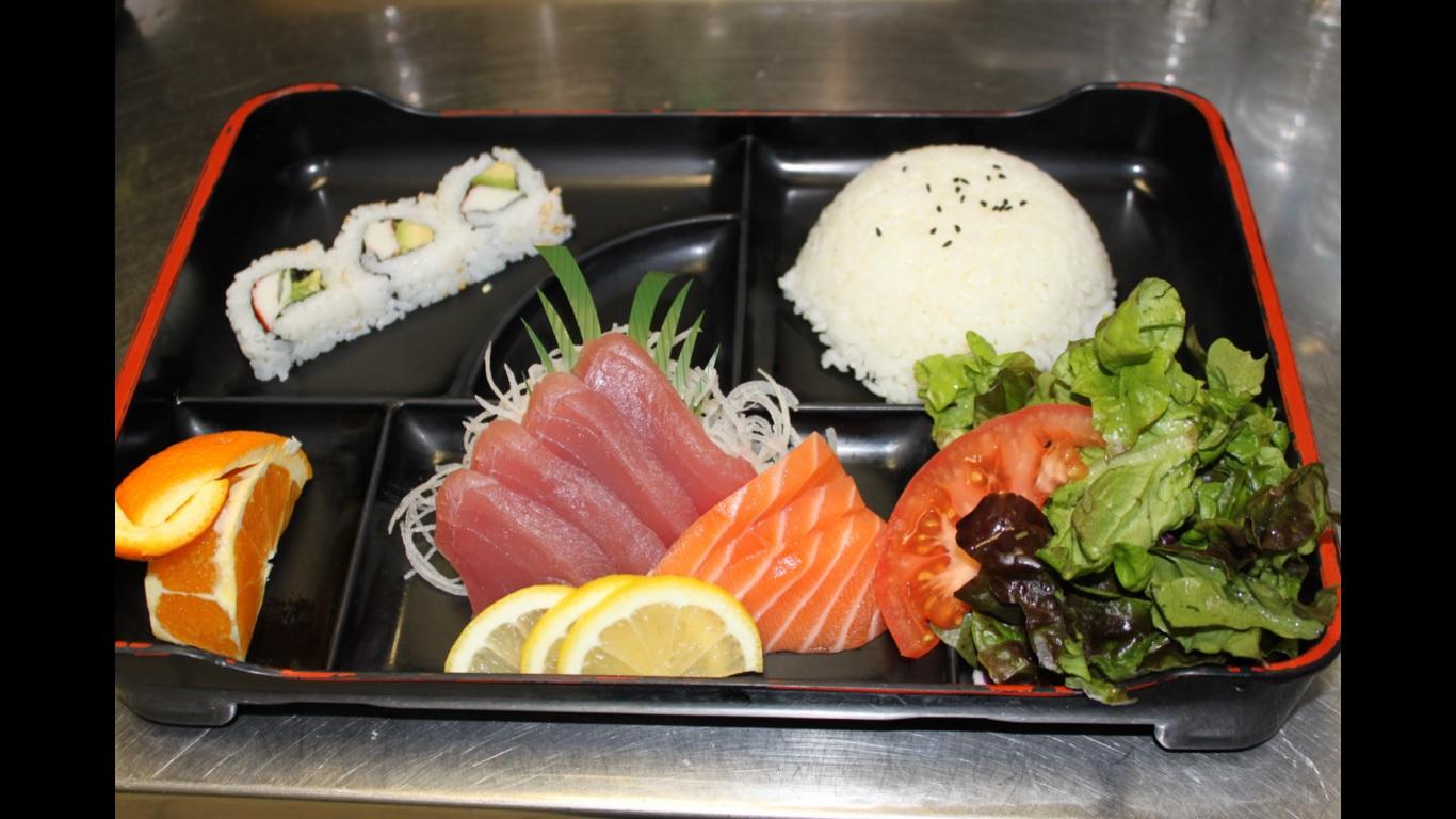 osaka sushi japanese cuisine bento box sacramento
