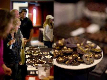 sacramento chocolate salon rounds
