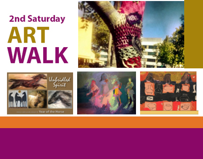 Second Saturday Art Walk 2/8/14