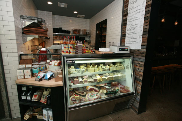 block butcher deli case