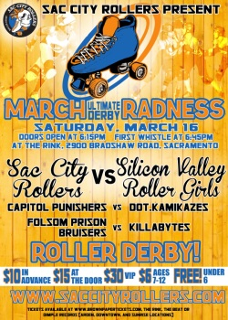 March (Ultimate Derby) Radness