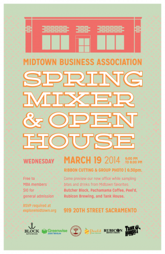 Midtown Business Association's Spring Mixer & Open House