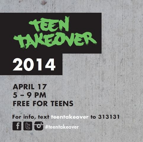 Teen Takeover @ Crocker
