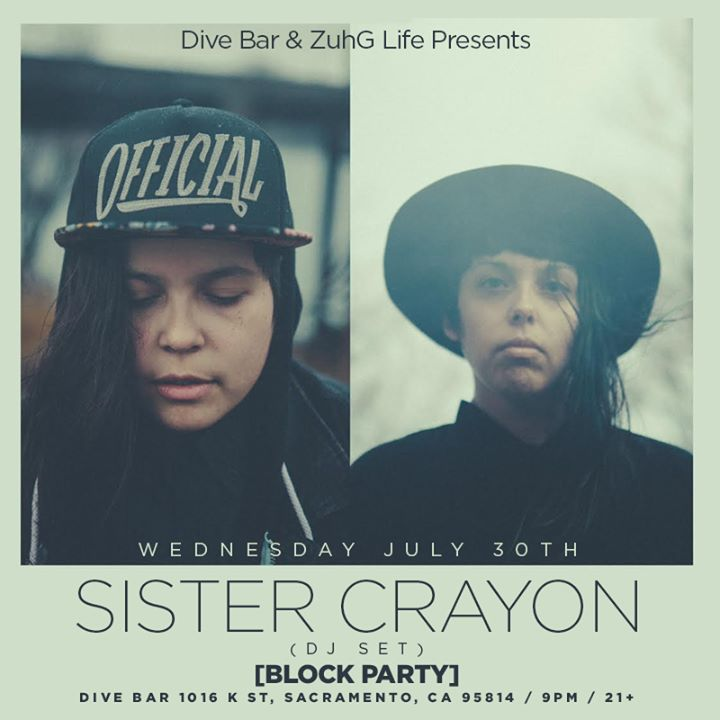 Block Party: Sister Crayon