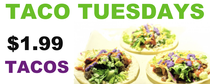 aura korean taco tuesdays