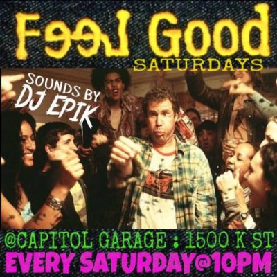 feel good saturdays capitol garage