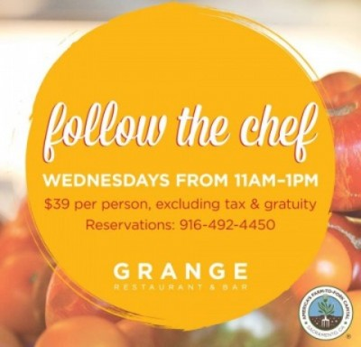follow chef wednesdays grange