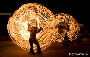 fire spectacular rings