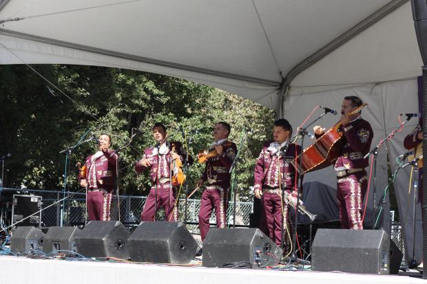 tamale festival mariachi