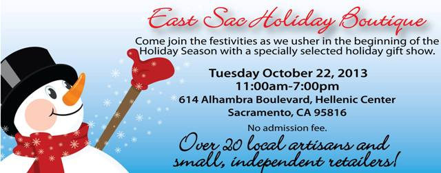 East Sac Holiday Boutique