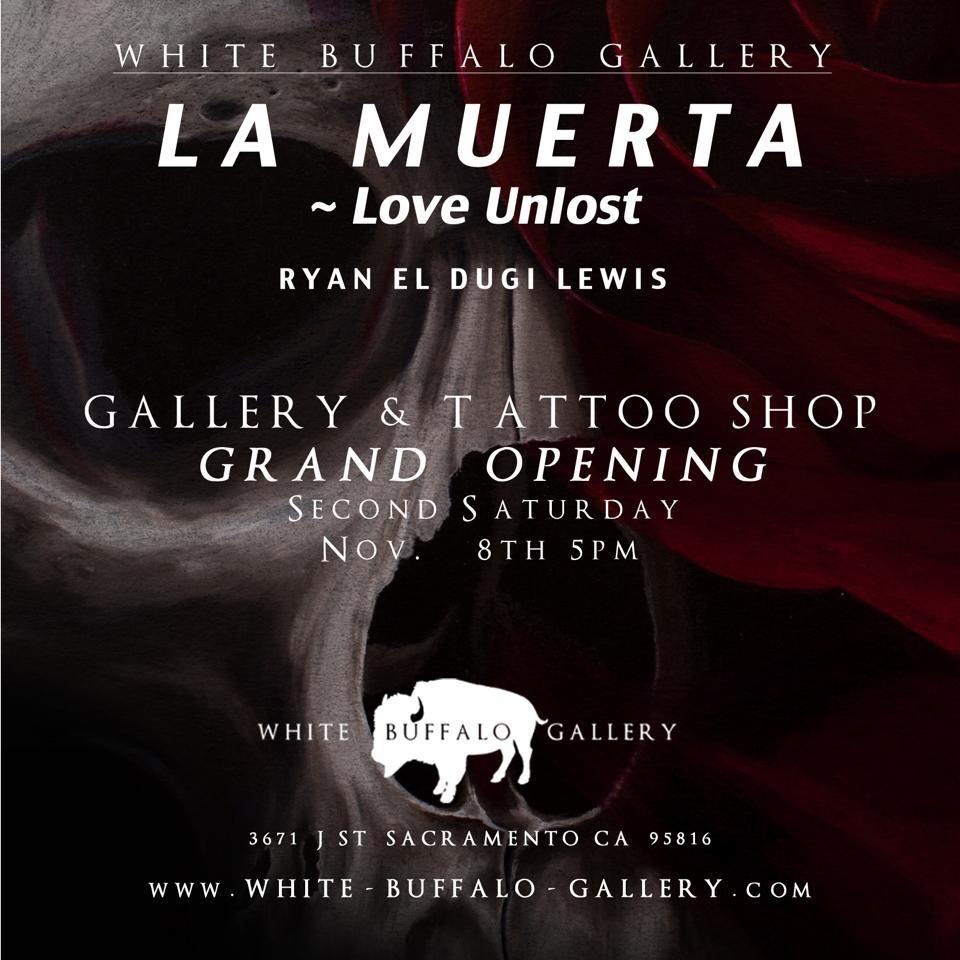 """LA MUERTA - Love Unlost"" art of Ryan El Dugi Lewis"