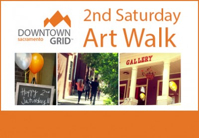 second saturday art walk sacramento