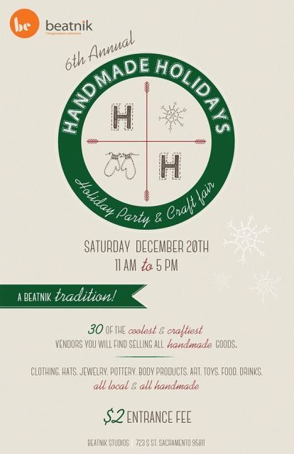 Handmade Holidays Party & Craft Fair