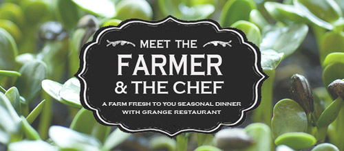 Meet the Farmer & Chef Seasonal Dinner