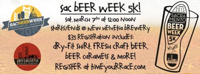 Sac Beer Week 5K