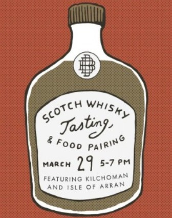 Scotch Tasting & Food Pairing