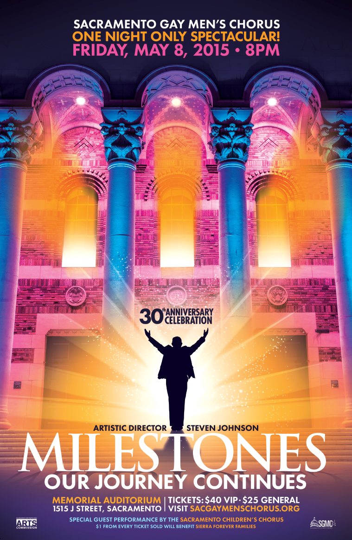 Sacramento Gay Men's Chorus: Milestones