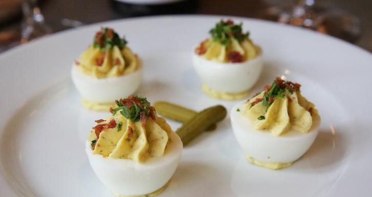 brasserie Capitale eggs