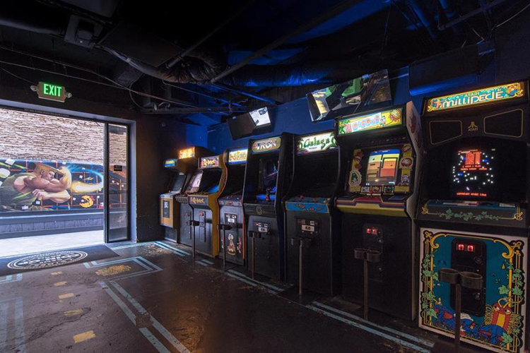 Coin op game room sacramento