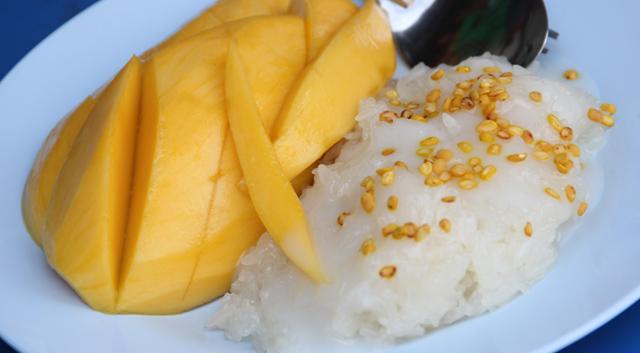 mango and rice