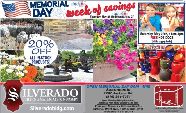 Silverado Memorial Day Weekend Sale