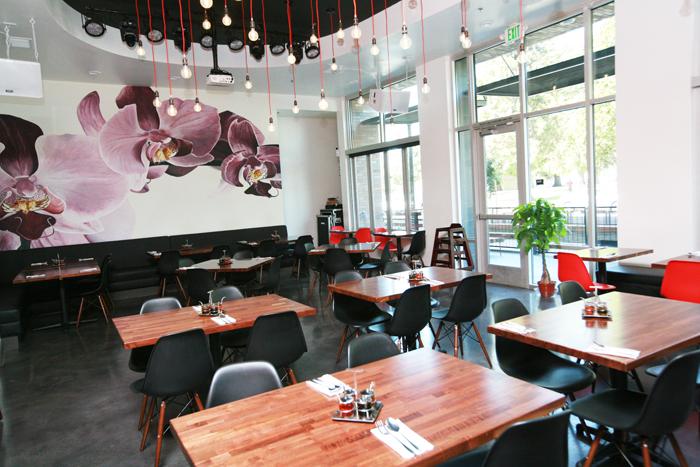 orchid thai restaurant interior