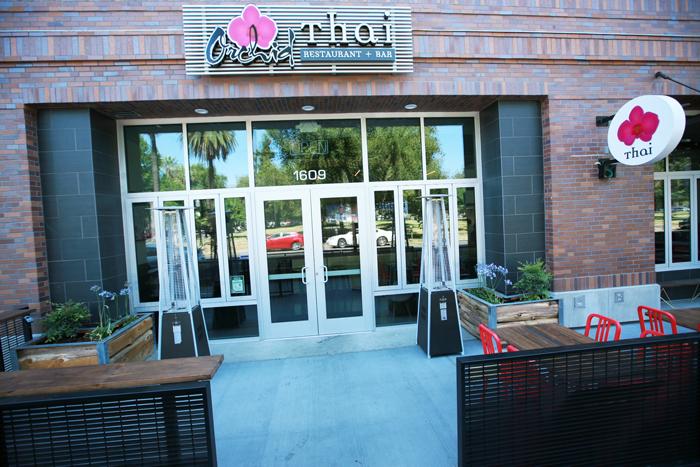 orchid thai restaurant patio
