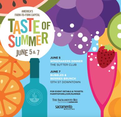 Taste of Summer: Bubbles & Berries Brunch