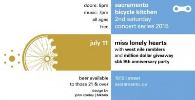 2nd Saturday ArtWalk: Sacramento Bicycle Kitchen