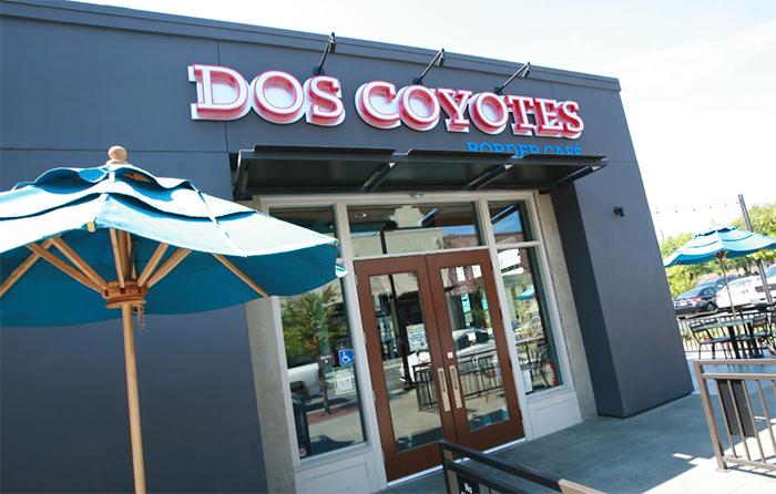 Dos Coyotes Border Café at R15