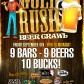 gold rush beer crawl