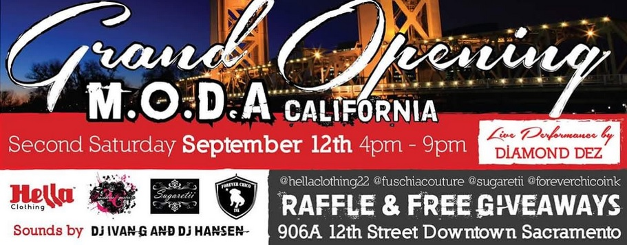 Grand Opening: M.O.D.A. California