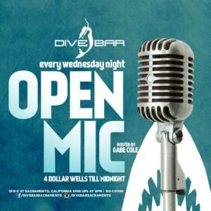 open mic dive