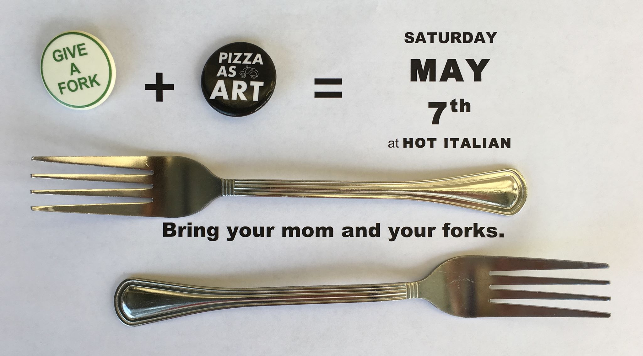 GIVE A FORK Fork Drive & Fundraiser