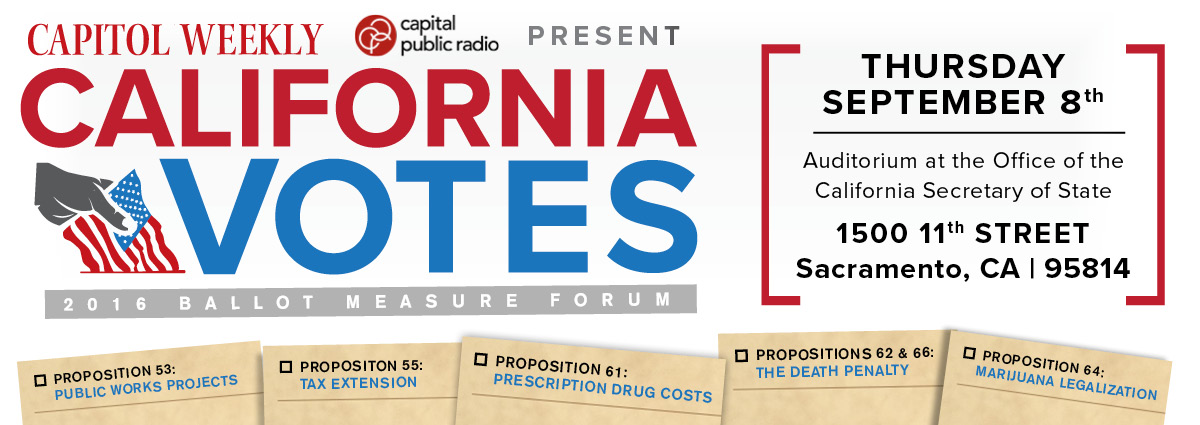 California Votes: 2016 Ballot Measure Forum