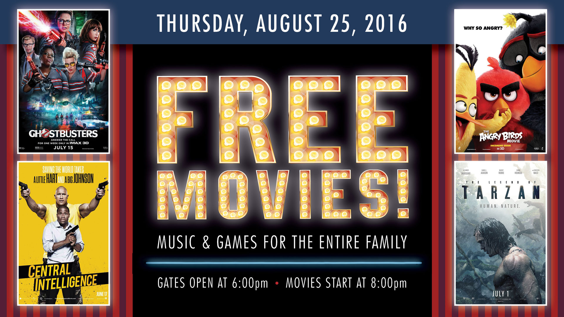 Free Movies at the Drive-In!